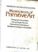 Cover of: Masterpieces of primitive art |