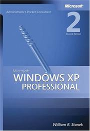 Cover of: Microsoft Windows XP professional administrator's pocket consultant