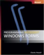Cover of: Programming Microsoft  Windows  Forms (Pro Developer)