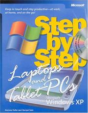 Cover of: Laptops and Tablet PCs with Microsoft Windows XP step by step