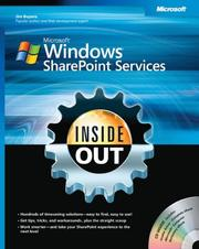 Cover of: Microsoft Windows Sharepoint services inside out