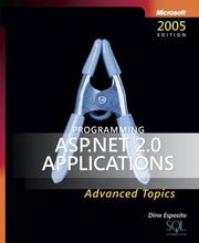 Cover of: Programming Microsoft  ASP.NET 2.0 Applications