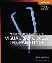 Cover of: Programming Microsoft  Visual Basic  2005