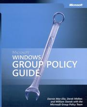 Cover of: Microsoft  Windows  Group Policy Guide (Pro-One-Offs)