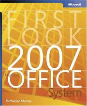 Cover of: First Look 2007 Microsoft  Office System (Bpg Other)