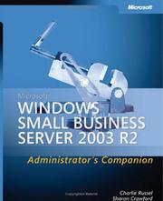 Cover of: Microsoft Windows Small business server 2003 R2
