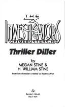Cover of: THRILLER DILLER BK 6 (The 3 Investigators Crimebusters, No 6)