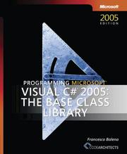 Cover of: Programming Microsoft  Visual C#  2005
