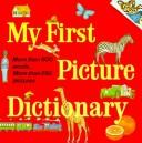 Cover of: My first picture dictionary | Katherine Howard, Katherine Howard