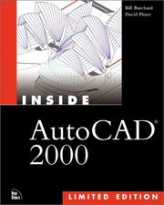 Cover of: Inside AutoCAD 2000