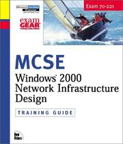 Cover of: MCSE Training Guide (70-221) | Dale Holmes