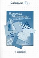 Cover of: Advanced Math