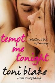 Cover of: Tempt Me Tonight