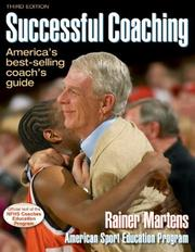 Cover of: Successful coaching