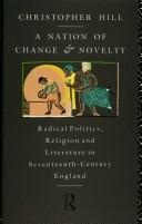 Cover of: A nation of change and novelty