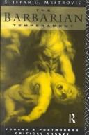 Cover of: The Barbarian Temperament