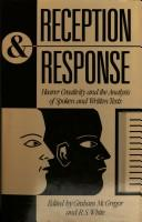 Cover of: Reception and Response