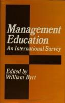 Cover of: Management Education