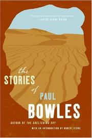 Cover of: The Stories of Paul Bowles