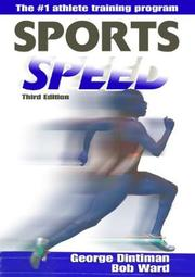 Cover of: Sports speed | George B. Dintiman