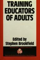 Cover of: Training Educators of Adults