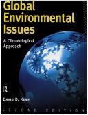Cover of: Global Environmental Issues