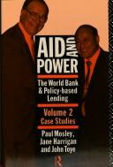 Cover of: Aid and power | Paul Mosley