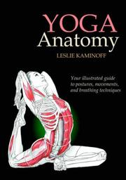 Cover of: Yoga Anatomy