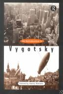 Cover of: An introduction to Vygotsky by