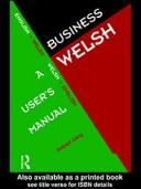 Cover of: Business Welsh