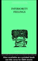 Cover of: Inferiority Feelings
