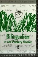 Cover of: Bilingualism in the primary school