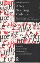 Cover of: After writing culture