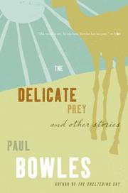 Cover of: Delicate Prey