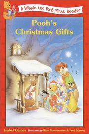 Cover of: Pooh's Christmas Gifts (Disney First Readers)