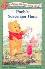 Cover of: Pooh's Scavenger Hunt (Disney First Readers)