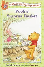 Cover of: Pooh's Surprise Basket (Disney First Readers)