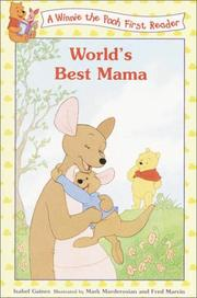 Cover of: World's Best Mama (Disney First Readers)