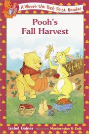 Cover of: Pooh's Fall Harvest (Disney First Readers)