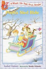 Cover of: Pooh's Sled Ride (Disney First Readers)