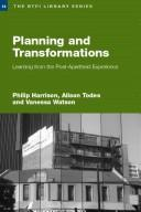 Cover of: Planning and Tranformation | Harrison/Oranje