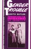 Cover of: Gender Trouble | Butler