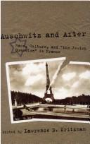 Cover of: Auschwitz and after |
