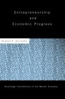 Cover of: Entrepreneurship and Economic Progress