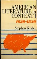 Cover of: American Literature in Context | Stephen Fender