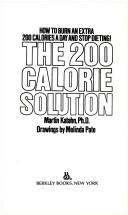 Cover of: The 200 calorie solution