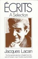 Cover of: Écrits | Jacques Lacan