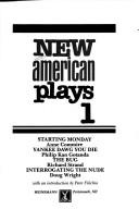 Cover of: New American plays