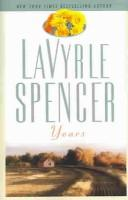 Cover of: Years | LaVyrle Spencer