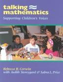Cover of: Talking mathematics: Supporting Children's Voices